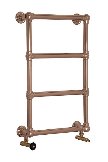 Bassingham Steel Towel Rail in Copper | Carron