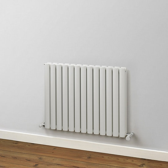 Finsbury Vertical Steel Radiator | Double | Foundry