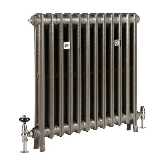The Grace 2 Column 740mm Cast Iron Radiator | Castrads