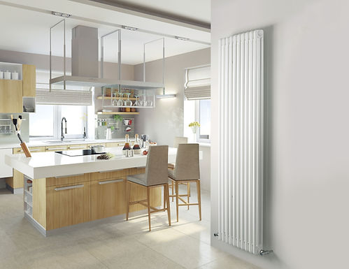 Multisec Steel 3 Column Stocked Radiator | White | Foundry