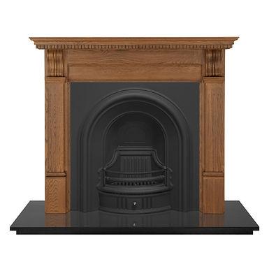 Coleby Cast Iron Fireplace Insert | Carron