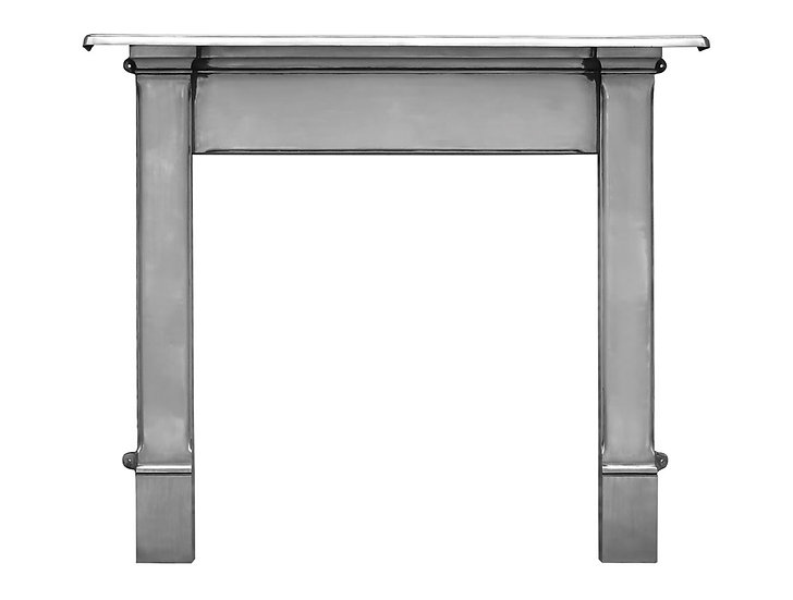 Alice Cast Iron Fireplace Surround polished | Carron