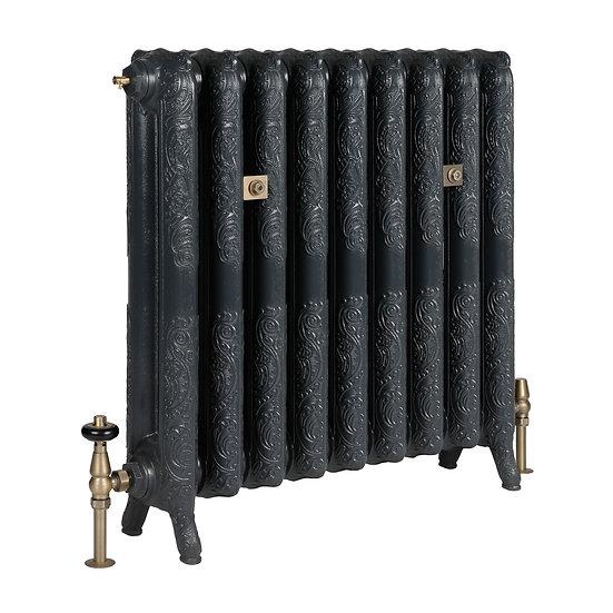 The Rococo 2 Column 760mm Cast Iron Radiator | Castrads