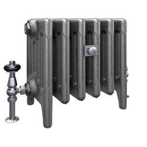 The Mercury 6 Column 360mm Cast Iron Radiator | Castrads