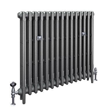 The Mercury 3 Column 860mm Cast Iron Radiator | Castrads