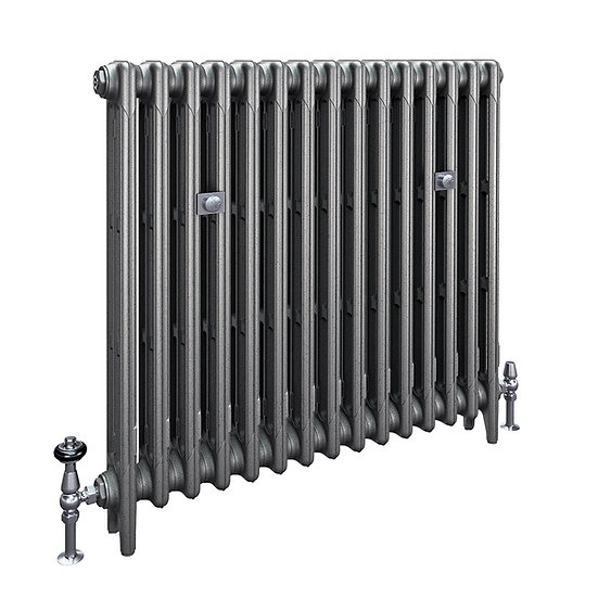The Mercury 3 Column 860mm Cast Iron Radiator | Castrads