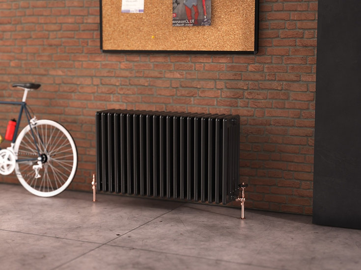 Multisec Bespoke Steel 6 Column Radiator | Foundry Cast Iron, MHS