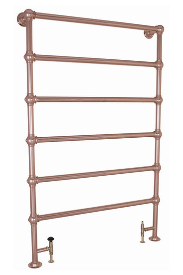 Colossus Steel Towel Rail Chrome- 1800mm x 1150mm | Carron | Foundry Cast Iron