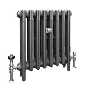 The Mercury 3 Column 560mm Cast Iron Radiator | Castrads