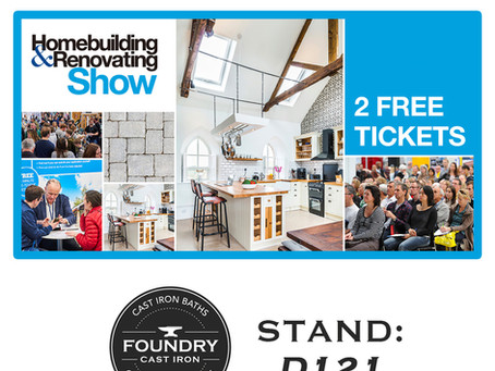 We're Exhibiting: Farnborough Homebuilding & Renovating Show 2020