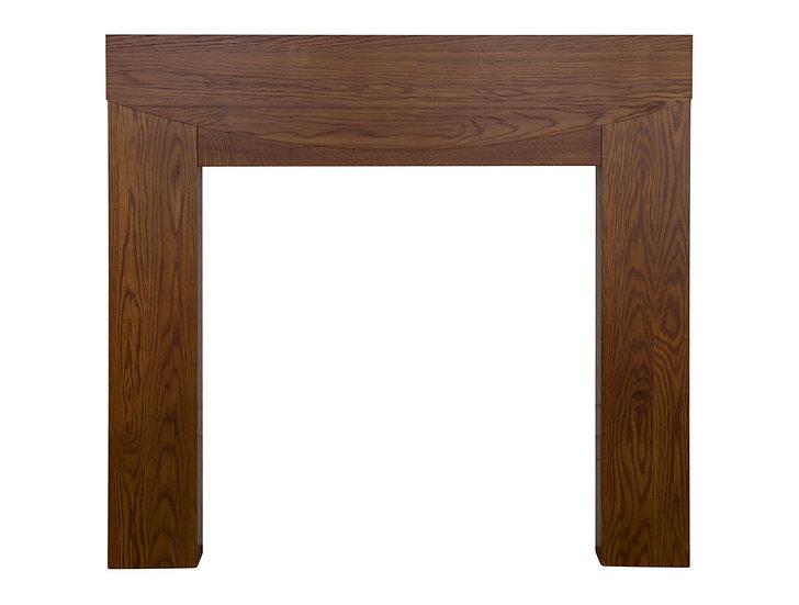 Hardwick Wooden Fireplace Surround waxed | Carron