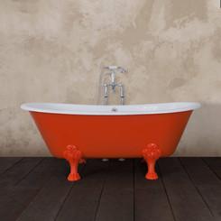 Red Cast Iron Bath Jig