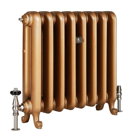 The Duchess 2 Column 590mm Cast Iron Radiator | Castrads