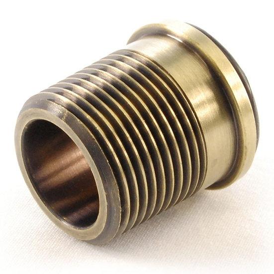 ¾ inch Rad Coupler Adaptor Old English Brass