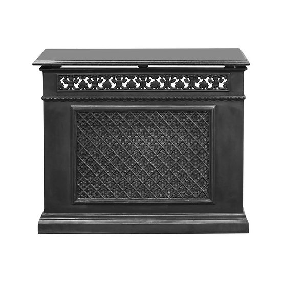 Cast Iron 1 Panel Radiator Cover | Carron
