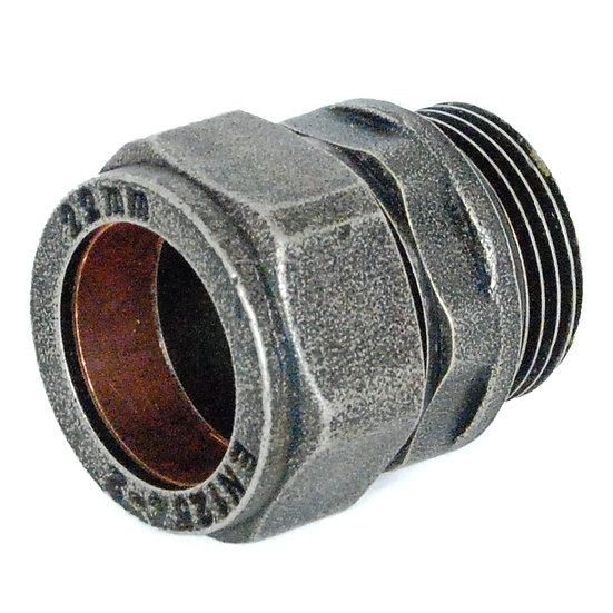 22mm Compression Adaptor - Pewter