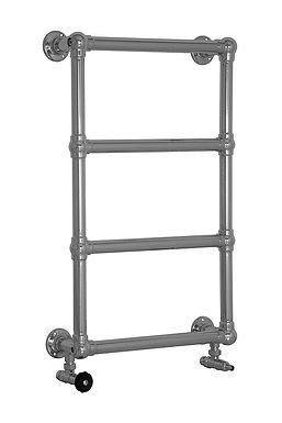 Bassingham Steel 4 Bar Wall Mounted Towel Rail in Chrome | Carron