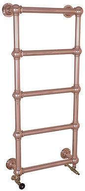 Colossus Steel 5 Bar Wall Mounted Towel Rail - 600mm x 1300mm   Carron