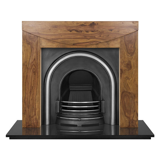 Celtic Arch Cast Iron Fireplace Insert highlight | Carron