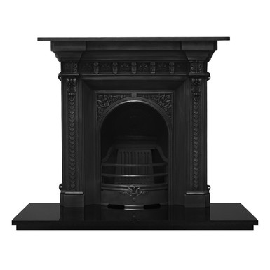Melrose Cast Iron Combination Fireplace   Carron