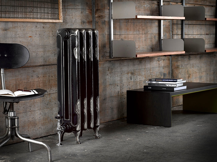 The Arroll Art Deco Cast Iron Radiator | Foundry Cast Iron Radiators and Baths