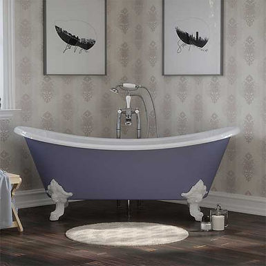 Tebb Cast Iron Bath | Hurlingham