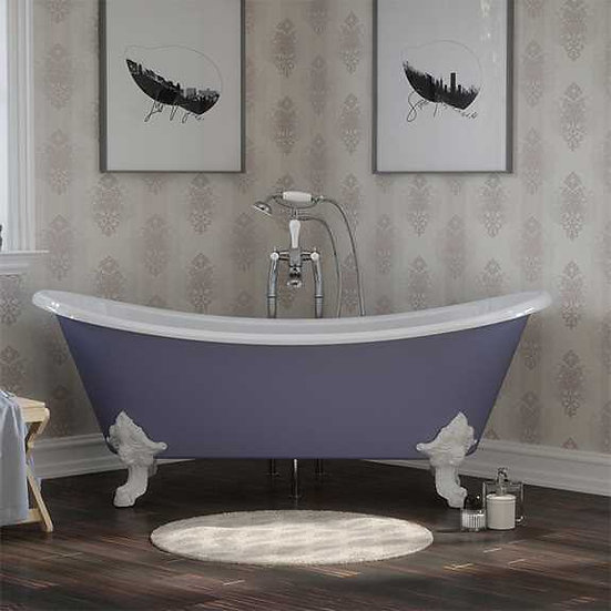 Tebb Cast Iron Bath | Hurlingham