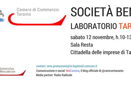 Società Benefit - Laboratorio Taranto