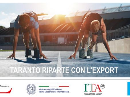 Internazionalizzazione: con ICE e Camera di commercio di Taranto, un anno di formazione gratuita