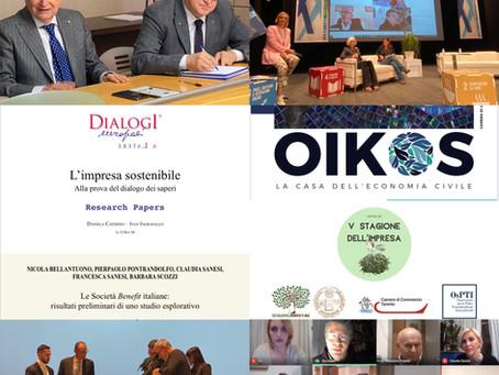 Economia civile: anche nel 2020, impegno confermato