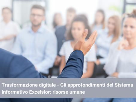 Trasformazione digitale - Sistema Informativo Excelsior: risorse umane