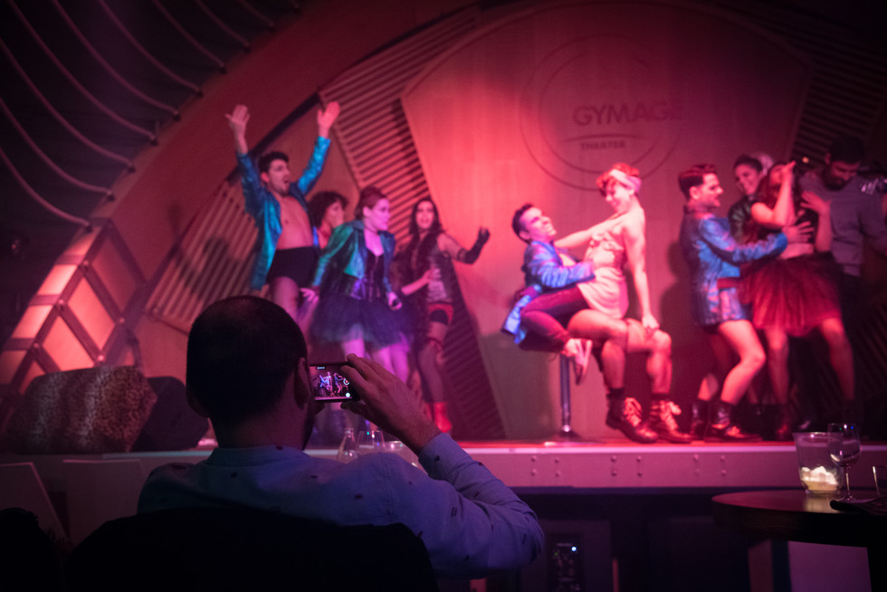 Teatro GYMAGE Dinner show