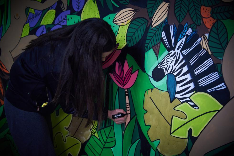 Chalk Custom Board Project - Monkey Garage