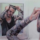 A Tattooed Man