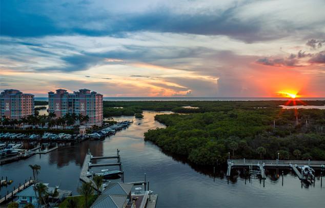 Pelican Isle Yatch Club Naples, Florida
