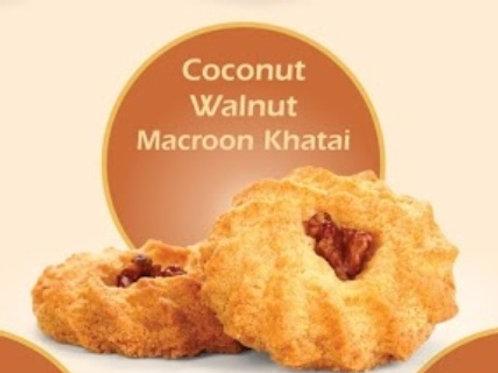 Coconut Walnut Macroon Khatai