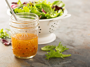 Coach Heather's #hacksforlivinglean: Homemade Salad Dressing