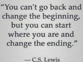 Start Where You Are As Often As Needed.