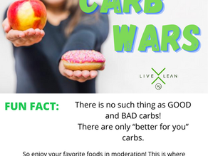 Carb Wars: They are NOT the enemy!
