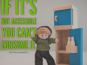 If it's not accessible, you CAN'T consume it.