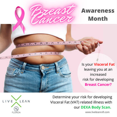 Visceral Fat (VAT): Belly Fat Increases Your Risk for Developing Breast Cancer.