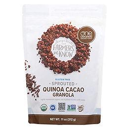 Sprouted Quinoa Granola