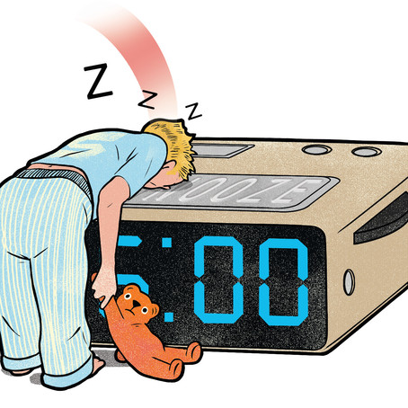 DISMISS that mid-afternoon SNOOZE BUTTON.