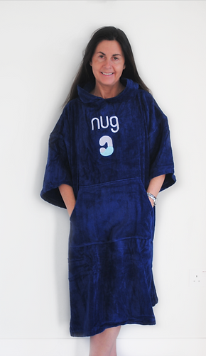 Adult Cotton Changing Robe   Large