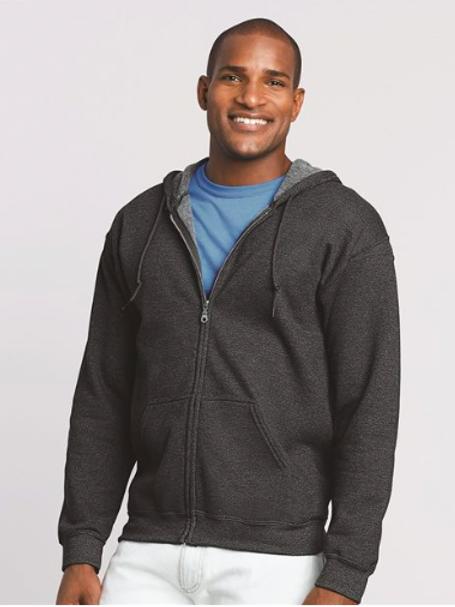 Item #18600 - Gildan - Heavy Blend™ Full-Zip Hooded Sweatshirt