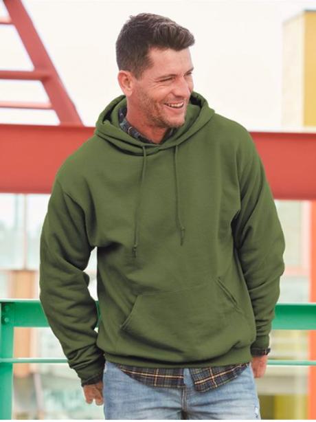 Item #996MR - Jerzees - Nublend® Hooded Sweatshirt