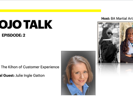 Dojo Talk: Episode 2 - The Kihon of Customer Experience with Julie Gatton