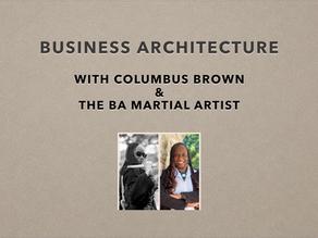 Dojo Talk: Episode 1 - The Waza of Business Architecture