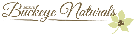 Logo for Becky's Buckeye Naturals