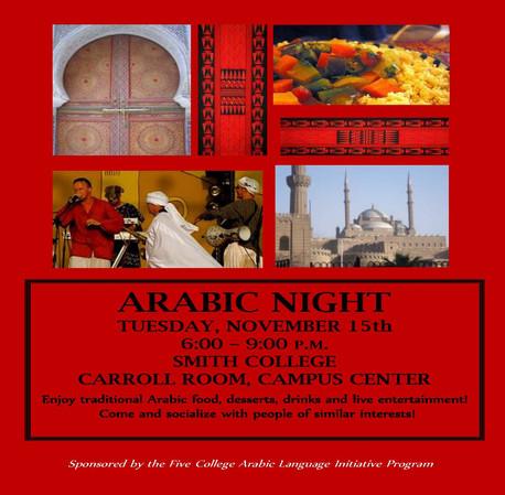 Arabic Night - Smith College